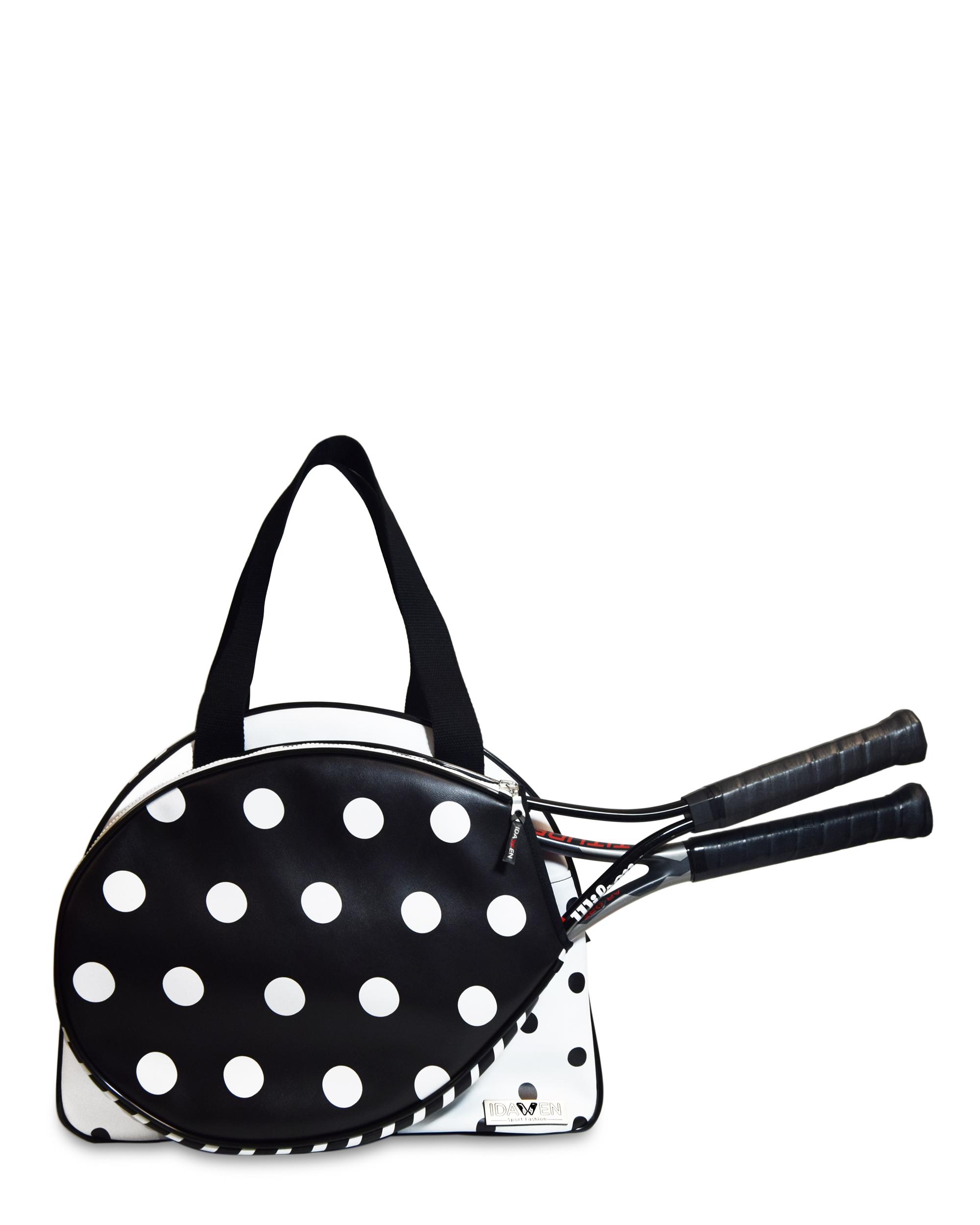 Women Tennis Bag Polka Dots Tennis Bag Sportive And Fashion You
