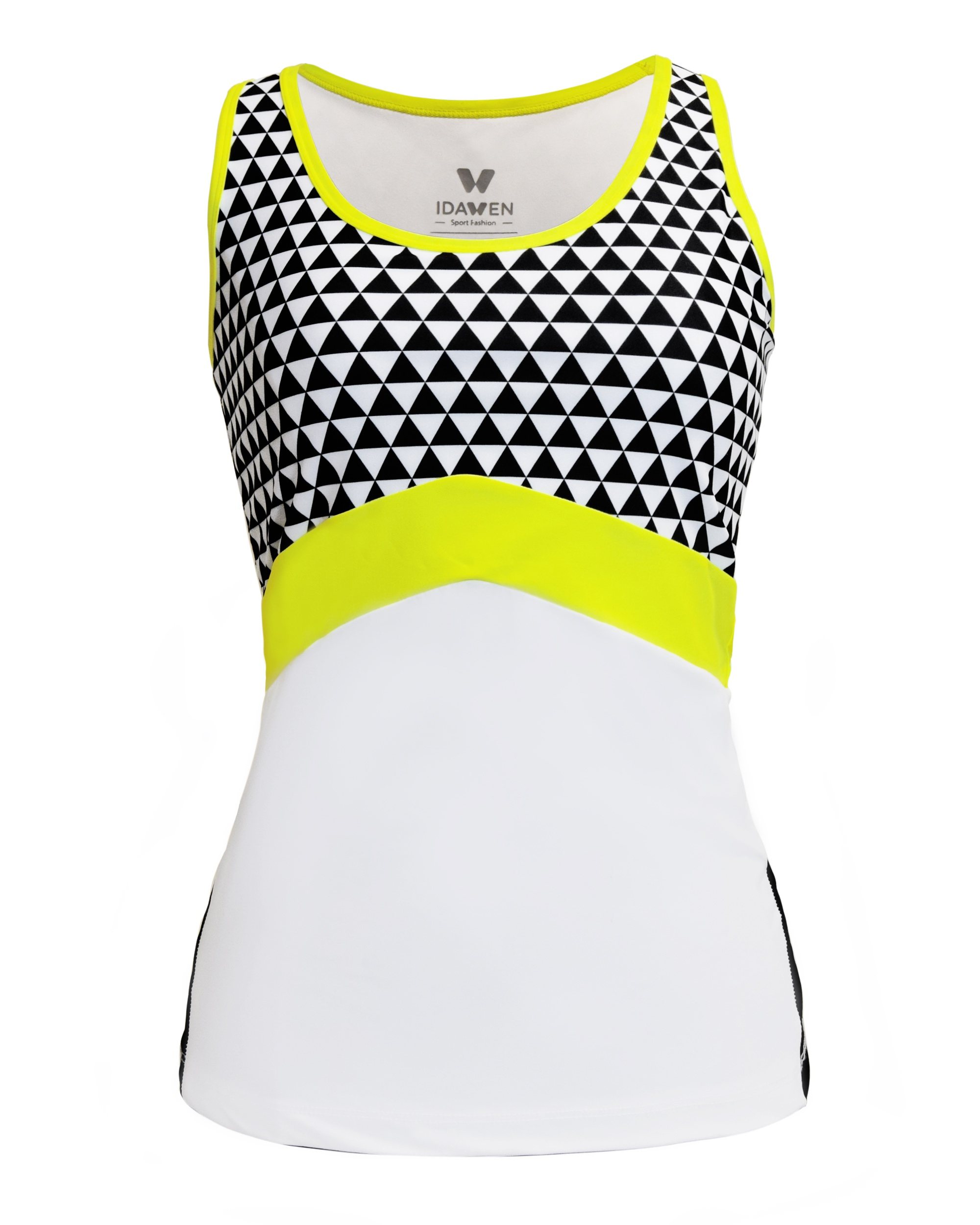 4a5c2e1caf28c SPORTS TOP WHITE AND BLACK WOMAN Activewear donesn t have to be