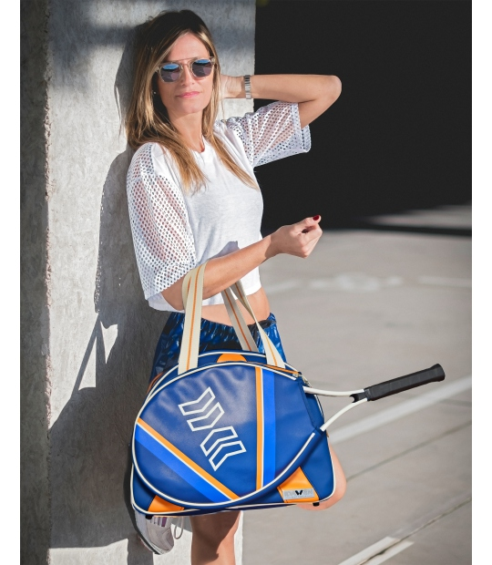 Women Tennis Bag Orange And Blue Bags Ce Idawen Woman
