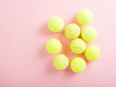 pelota de tenis, portada