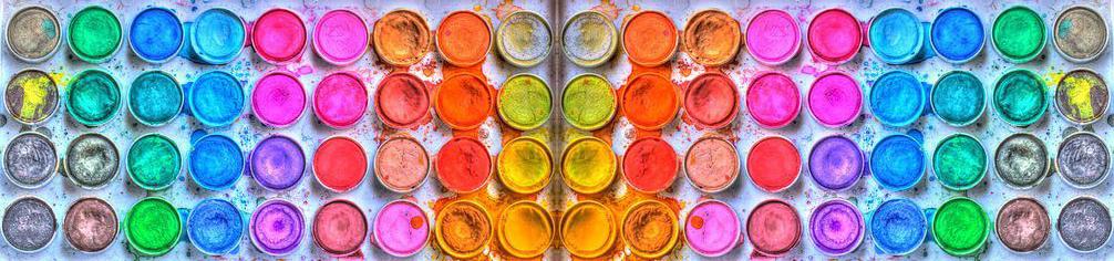 paleta Cromoterapia en el deporte. El significado de los colores.