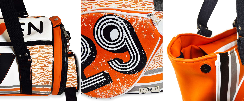 PALETERO IDAWEN BEACH MIRINDA DET INTERIOR NEW Moda deportiva 2019, color naranja: Inspiración Mirinda