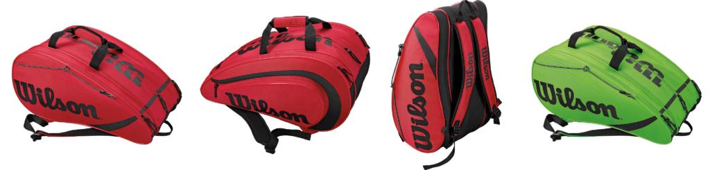 bolso de padel wilson rojo 1024x245 Buscamos tu bolso de pádel favorito, Tamaño XL.