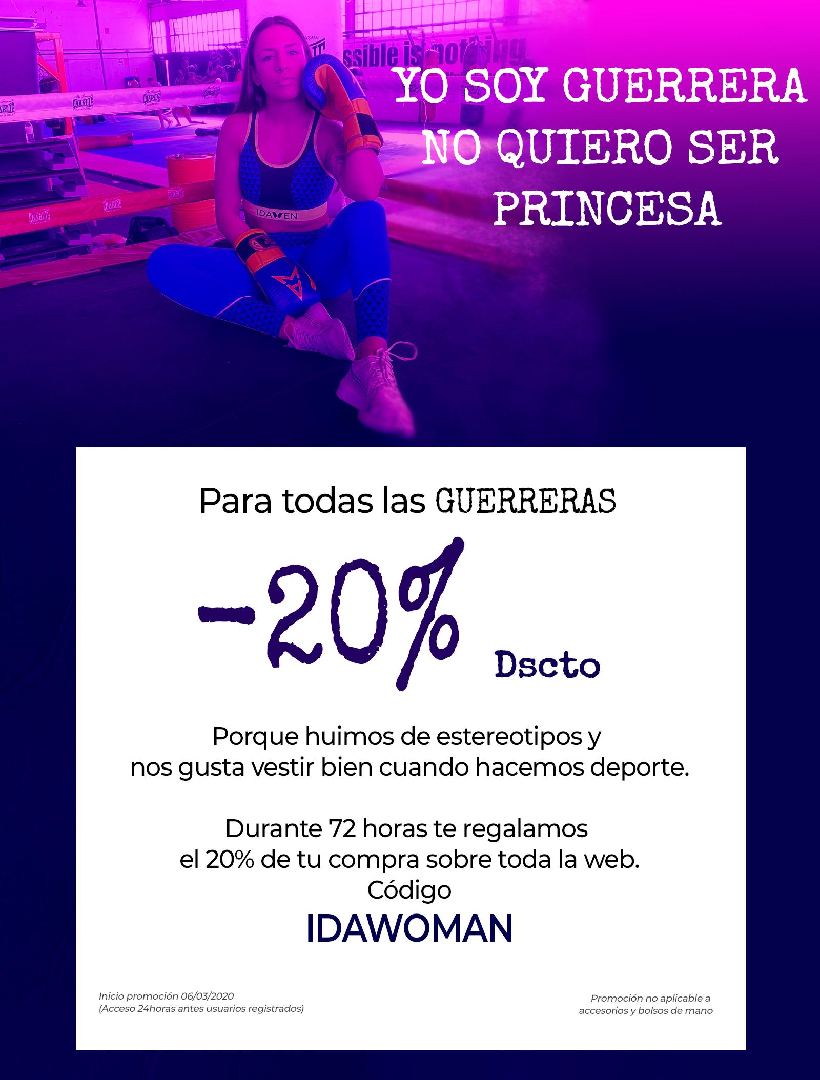 Promo Flash IDAWEN Dia de la mujer