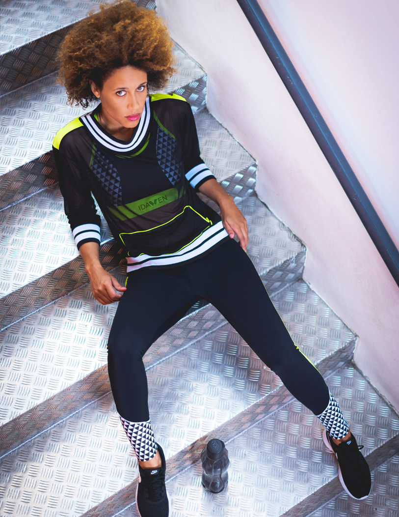 Shop IDAWEN women's sportswear: leggings, tops, tennis skirts, sports bras and much more