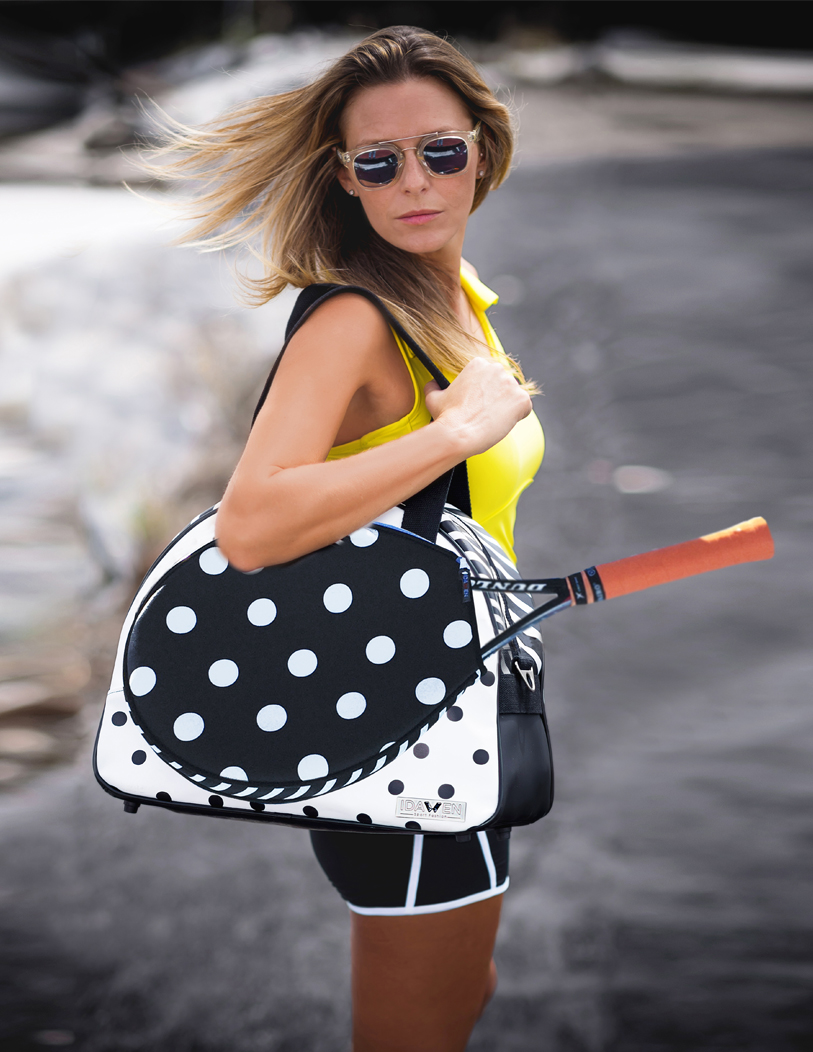 Access to IDAWEN tennis and sports bags for women: tennis bags, gym bags, yoga bags, mats
