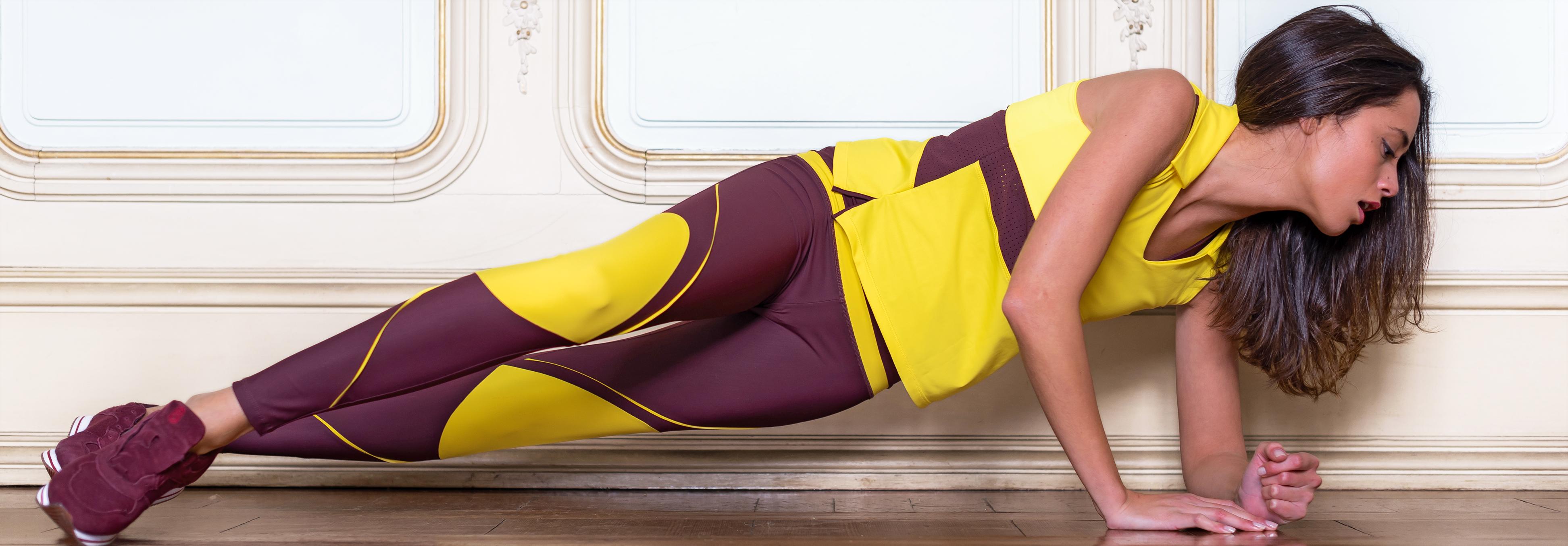 c899e8bfe Ropa deportiva de mujer que fusiona diseño y tejidos técnicos
